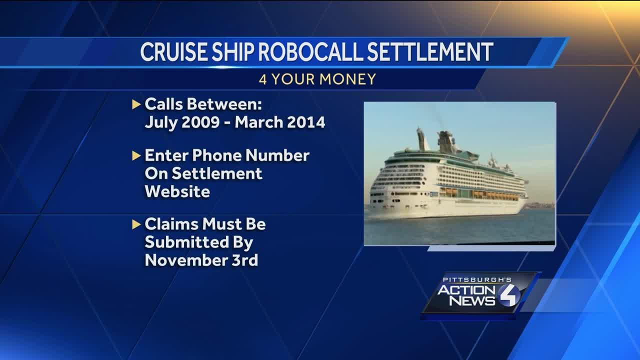 Cruise ship robocall settlement