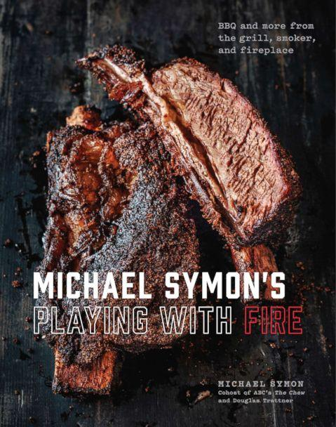 PHOTO: Michael Symon's new cookbook, 'Michael Symon's Playing With Fire,' is photographed here.<p>(Ed Anderson)