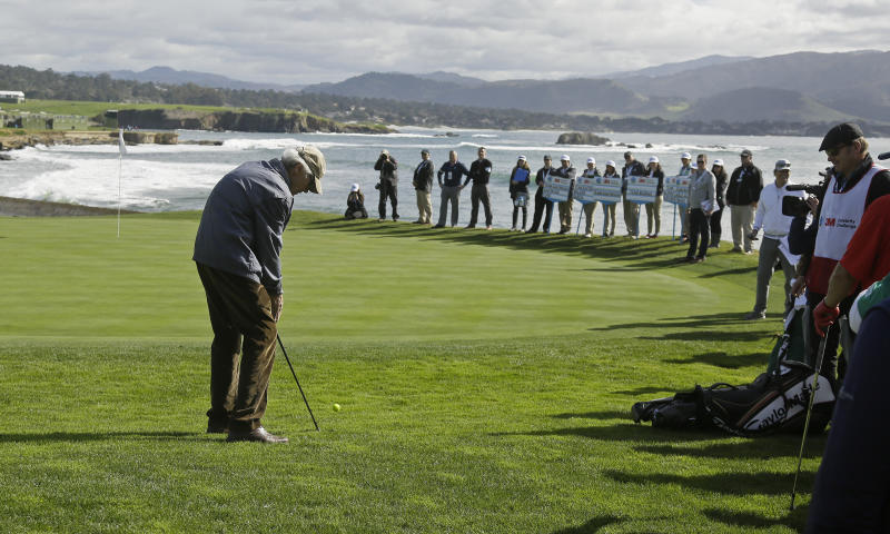 pebble beach only a us open preview of the scenery