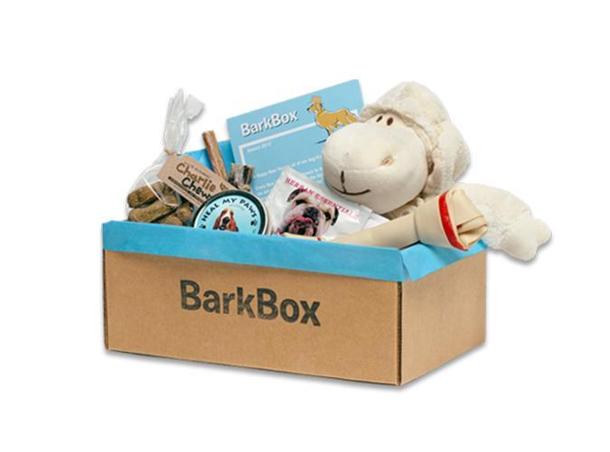 """<h2>53. BarkBox</h2> <p><strong>Cost: </strong>$22/month</p> <p><strong>What you get: </strong>Two toys, two all-natural bags of treats and a chew toy</p> <p><strong>Why we love it:</strong> Show your pup you love him back with a monthly themed delivery of toys and treats, tailored to his or her size and weight.</p> <p><a class=""""link rapid-noclick-resp"""" href=""""https://barkbox.com/subscribe"""" rel=""""nofollow noopener"""" target=""""_blank"""" data-ylk=""""slk:Sign Up for BarkBox"""">Sign Up for <em>BarkBox</em></a></p>"""