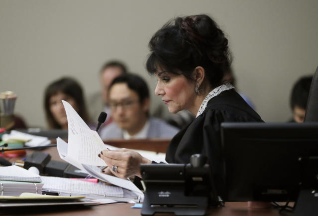 Judge Rosemarie Aquilina wants the USOC to be monitored more closely. (AP Photo/Carlos Osorio)