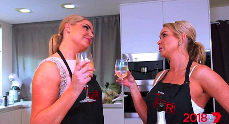 Or could it be Emma and Jess? Source: Channel Seven