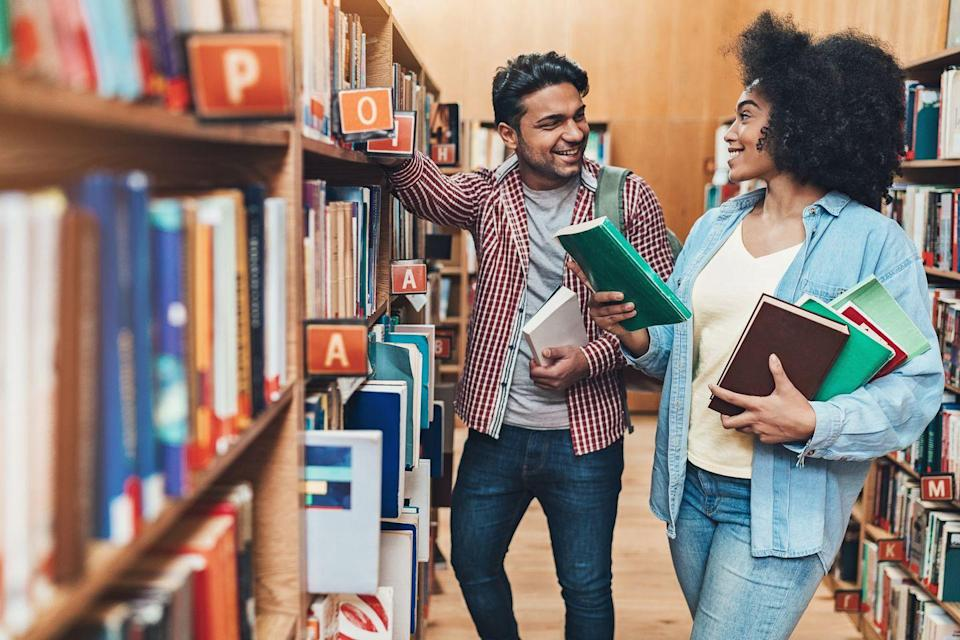 """<p>You can learn a lot about a person by their favorite books. Discover a different side to your sweetheart by heading to a library or local bookstore and picking out books you think they'll love. Maybe grab a steamy romance for you to enjoy together, while you're in the stacks.</p><p><strong>RELATED:</strong> <a href=""""https://www.goodhousekeeping.com/life/entertainment/g30456677/best-books-of-2020/"""" rel=""""nofollow noopener"""" target=""""_blank"""" data-ylk=""""slk:The 35 Best Books of 2020 to Add to Your Reading List ASAP"""" class=""""link rapid-noclick-resp"""">The 35 Best Books of 2020 to Add to Your Reading List ASAP</a></p>"""