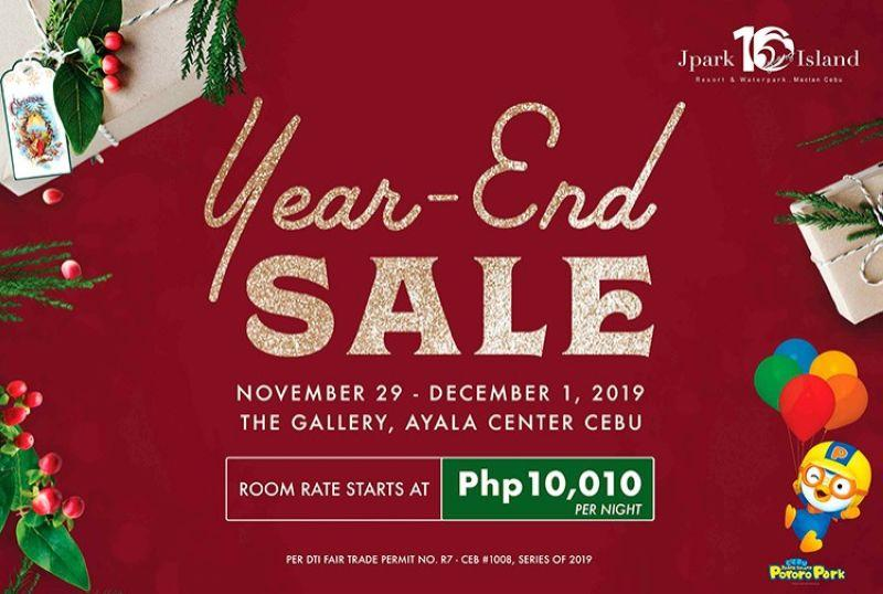 Jpark to hold 3-day year-end sale
