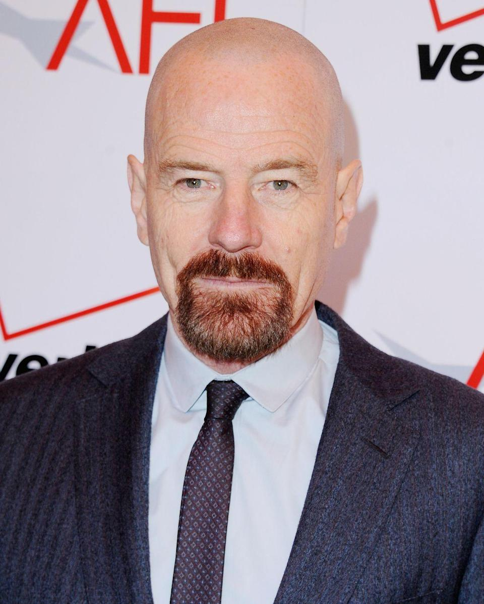 <p>Same goes for this <em>Breaking Bad</em> star. In order to create the Walter White look, Bryan Cranston had to grow out a goatee and shave his head completely. The dramatic change in style did help distance Cranston from his previous role of Hal in <em>Malcolm in the Middle</em>.</p>