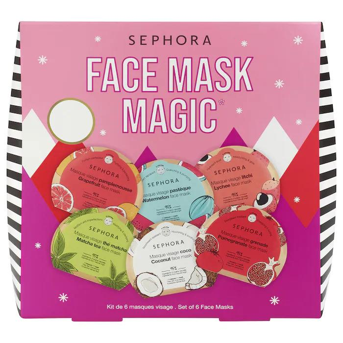 Box of 6 Sephora Collection Face Masks