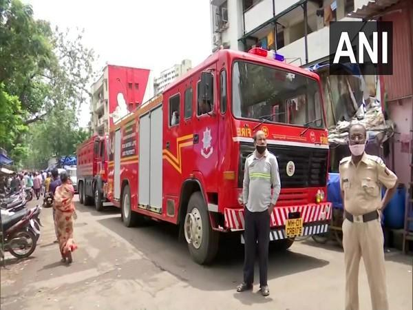 Visuals from the site of the LPG cylinder blast in Mumbai