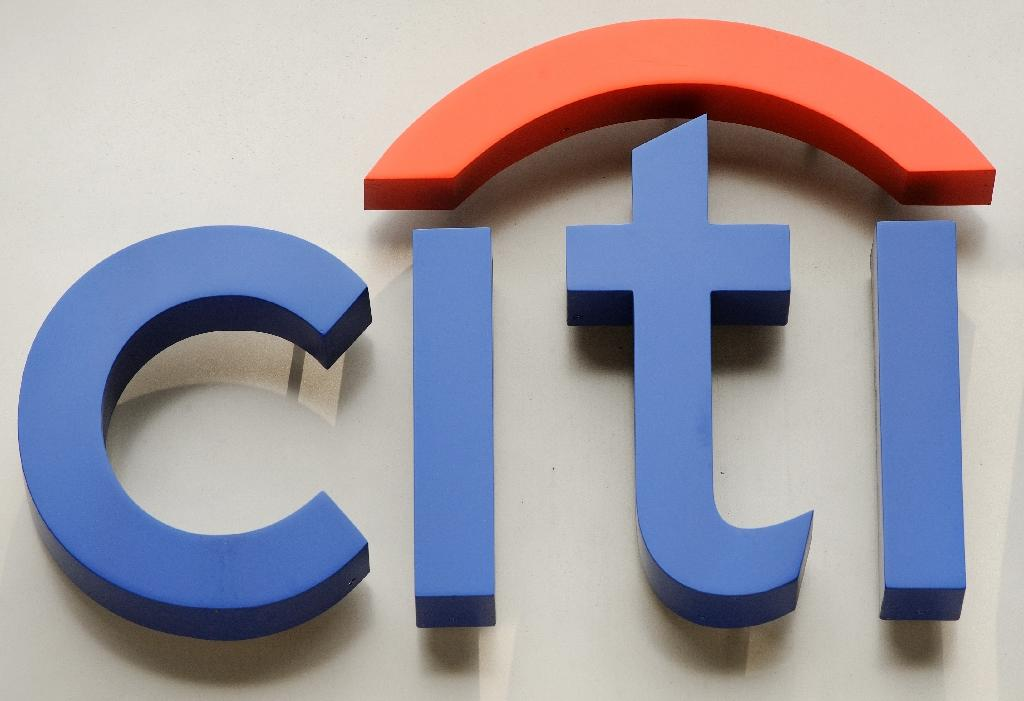 Citigroup saw revenue generated by its financial product trading jump 24 percent in the fourth quarter, driven by bonds, currencies, commodities, whose revenues were up 36 percent (AFP Photo/DON EMMERT)