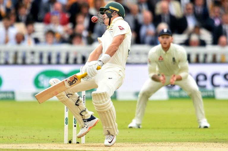 Marnus Labuschagne survived an early blow from Jofra Archer and top scored with 59