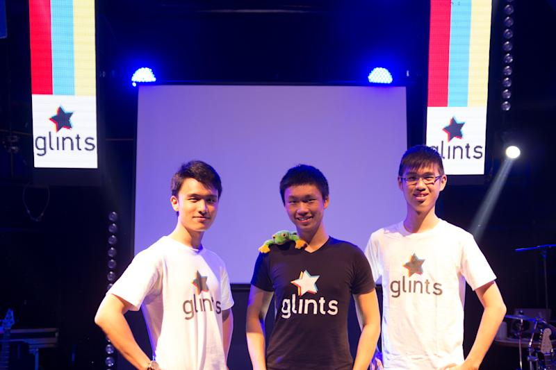 From left: Glints founders Ying Cong Seah, Oswald Yeo, and Qin En Looi.