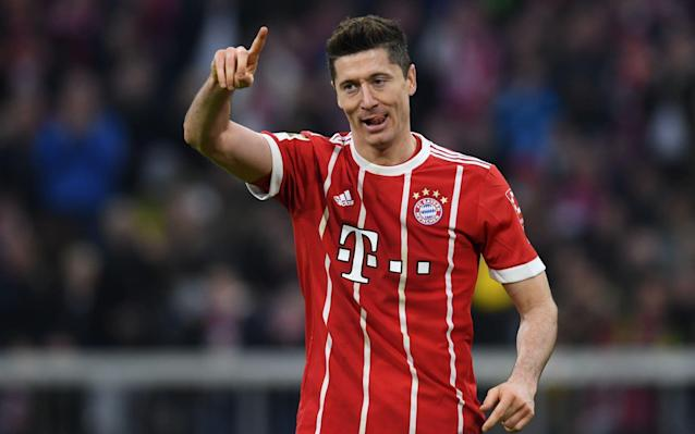 """Bayern Munich are adamant they will not sell Robert Lewandowski this summer despite the striker having told them he wants to leave. Telegraph Sport revealed earlier this month that Chelsea have made Lewandowski a top target – which would probably signal the depature of Alvaro Morata - but they would face a battle from a host of Europe's leading clubs if there was any indication that Bayern would sell. There is a growing expectation that Karim Benzema may leave Real Madrid, and possibly join Marseille, which would create an opportunity for them to sign Lewandowski, who has made no secret of his desire to join the Spanish giants. There would no shortage of bidders for Lewandowski – virtually every elite club bar Barcelona would want the 29-year-old, it is understood – but Bayern are becoming increasingly determined to keep him. It raises the possibility of Lewandowski having to stay at the club against his wishes. Lewandowski's agent Pini Zahavi confirmed to Telegraph Sport that his client wanted to leave and Zahavi stood by quotes he gave to Sport Bild magazine in which he said the Bundesliga's top scorer """"feels that he needs a change and a new challenge in his career"""". Lewandowski will be a key player for Poland in Russia Credit: NURPHOTO Zahavi, who is one of the world's most influential agents, and helped broker Neymar's world-record transfer from Barcelona to Paris Saint-Germain last year, said Lewandowski's desire to leave was not linked to money but to seeking a new challenge. """"Robert feels as if he needs a change and a new challenge in his career,"""" Zahavi said. """"Bayern's bosses have been informed. Money or a specific club are not Robert's motivation for a move, as almost every top club would like to have the best striker in the world in their ranks."""" Zahavi added: """"Everyone in charge at Bayern had a great playing career themselves. They should understand his situation."""" World Cup kits ranked Lewandowski has scored 151 goals in 195 games since signing from Boru"""