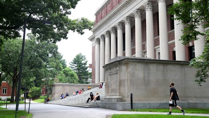 Havard University in Massachusetts has moved all its classes online during the pandemic