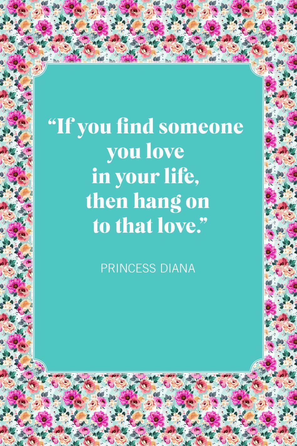 """<p>""""If you find someone you love in your life, then hang on to that love.""""</p>"""