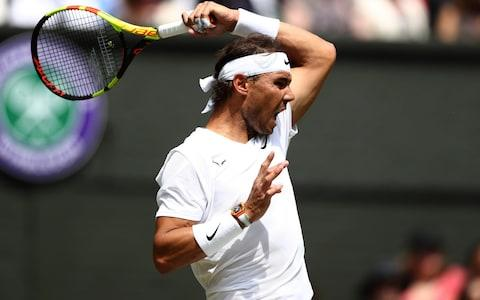 <span>Nadal had spent more than a decade targeting the Federer backhand with sliding lefty serves</span> <span>Credit: Getty Images </span>