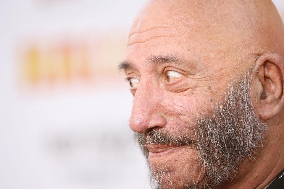 """HOLLYWOOD - AUGUST 23:  Actor Sid Haig arrives at the """"Halloween"""" Los Angeles Premiere at Grauman's Chinese Theater on August 23, 2007 in Hollywood, California.  (Photo by Michael Tran/FilmMagic)"""