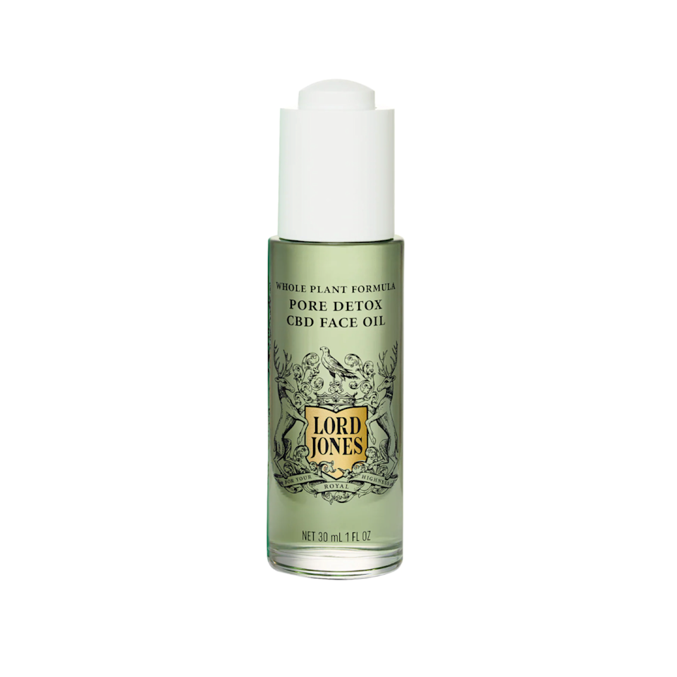 """Lord Jones does it again! The brand never misses, and I consider the Pore Detox CBD Face Oil another win. Made with tea tree oil, blue tansy, and (duh) CBD, this product soothes the skin and targets your pores without sacrificing moisture. —<em>Anna Moeslein, deputy editor</em> $68, Sephora. <a href=""""https://shop-links.co/1750572981393113780"""" rel=""""nofollow noopener"""" target=""""_blank"""" data-ylk=""""slk:Get it now!"""" class=""""link rapid-noclick-resp"""">Get it now!</a>"""