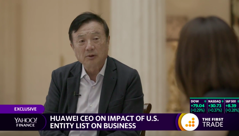 Yahoo Finance interviews Huawei's Kevin Ho.