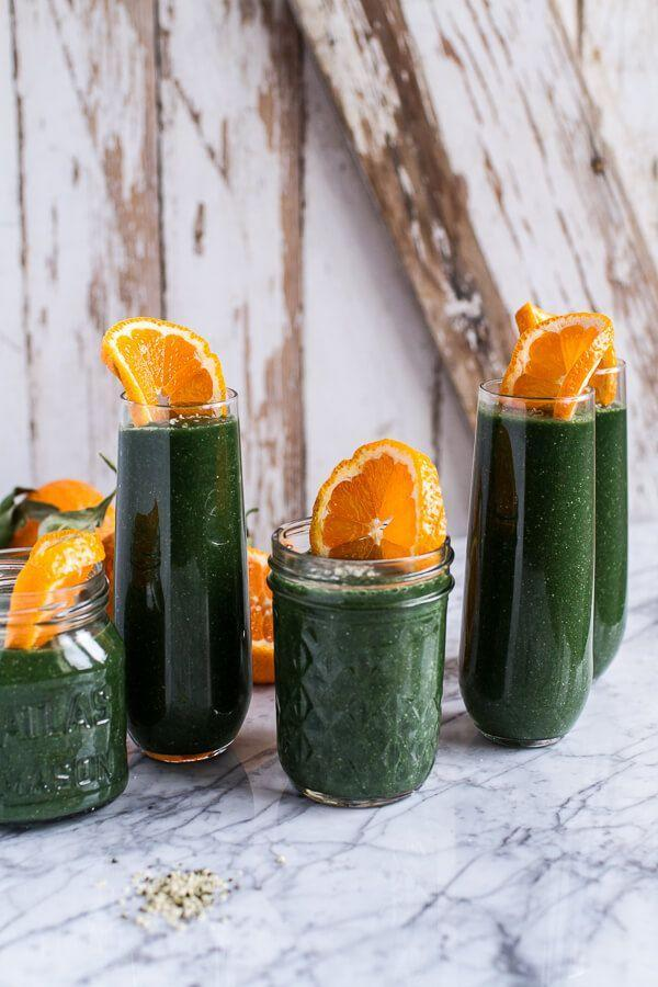 """<p>After overdoing it on the heavy foods and booze, this is what you want to put in your body.</p><p><a href=""""http://www.halfbakedharvest.com/holiday-detox-mean-green-smoothie/"""" rel=""""nofollow noopener"""" target=""""_blank"""" data-ylk=""""slk:Get the recipe from Half Baked Harvest »"""" class=""""link rapid-noclick-resp""""><em>Get the recipe from Half Baked Harvest »</em></a></p>"""