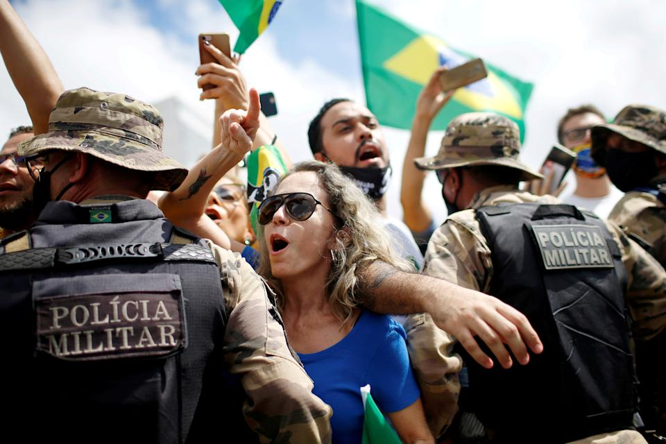 Proteste in Brasile (REUTERS/Adriano Machado TPX IMAGES OF THE DAY)