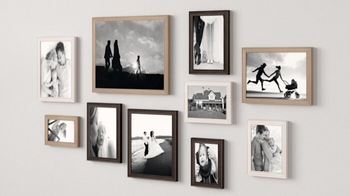 Best photo gifts of 2020: Gallery Picture Frame Set