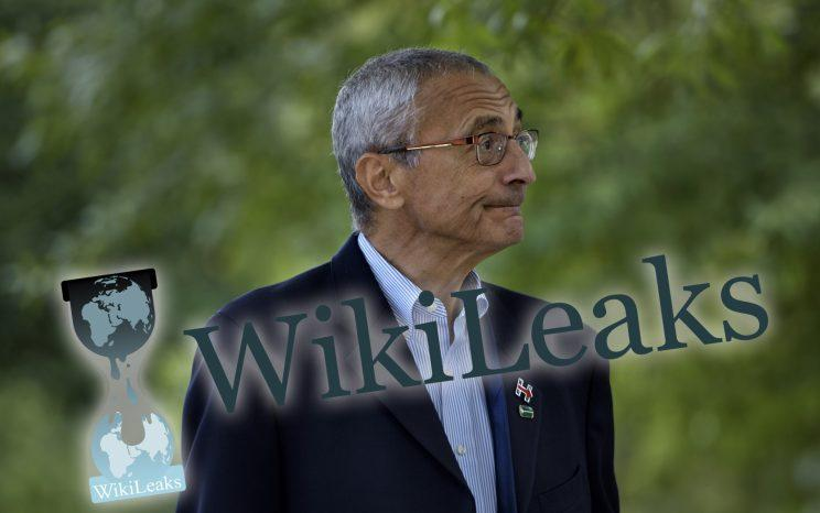 John Podesta, Clinton campaign chairman. (Photo illustration by Yahoo News. Photo: Brendan Smialowski/AFP/Getty Images)