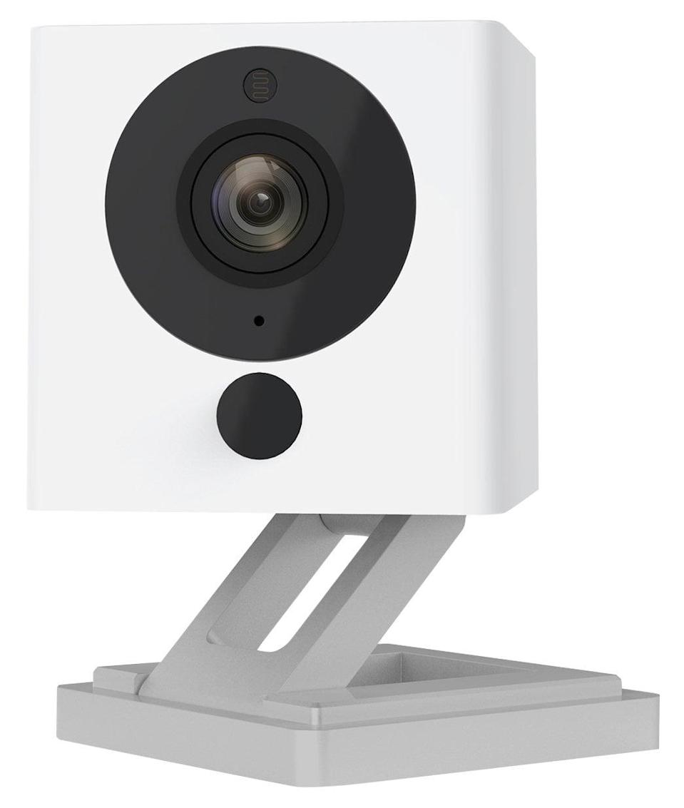 <p>This <span>Wyze Cam 1080p HD Indoor Wireless Smart Home Camera With Night Vision</span> ($26) even notifies you when a person is detected.</p>