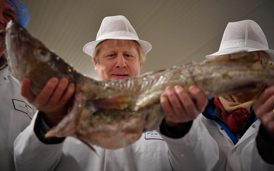 Off the scale: The PM has been urged to appoint an official for fish and chips - Getty Images Europe/WPA