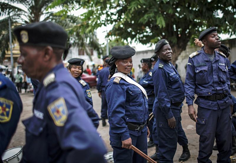 A policeman and three Bundu dia Kongo (BDK) fighters were killed in a raid on the compound in Kinshasa, Democratic Republic of the Congo, that housed the spiritual leader of the BDK movement