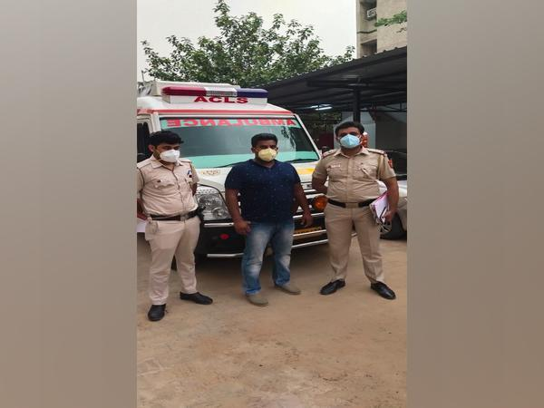 The owner of the ambulance service company arrested by the Delhi Police.