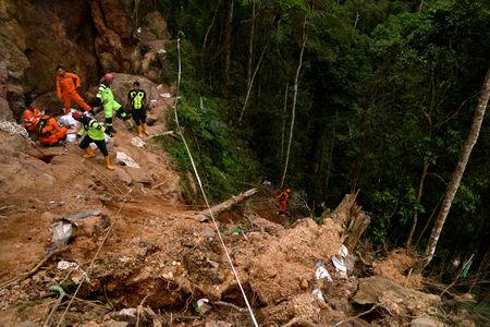 At Least 1 Killed, 60 Feared Buried in Illegal Mine Landslide