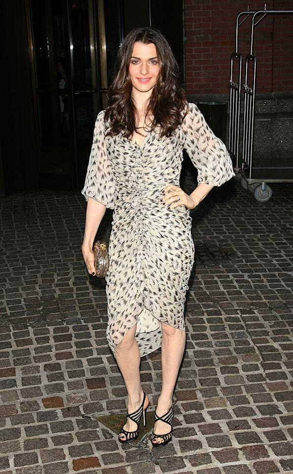 """<a href=""""http://movies.yahoo.com/movie/contributor/1800019614"""">Rachel Weisz</a> at the New York screening of <a href=""""http://movies.yahoo.com/movie/1809843292/info"""">The Brothers Bloom</a> - 05/07/2009"""