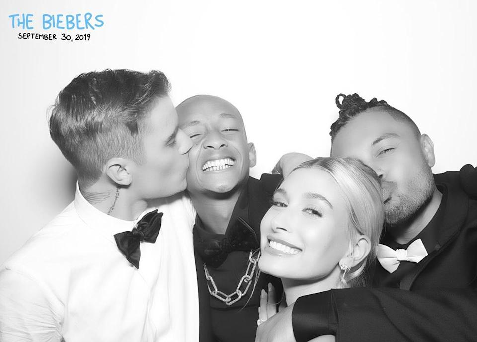 Justin Bieber and Hailey Baldwin celebrated their marriage with family and friends (Credit: Alfredo Flores/Instagram)