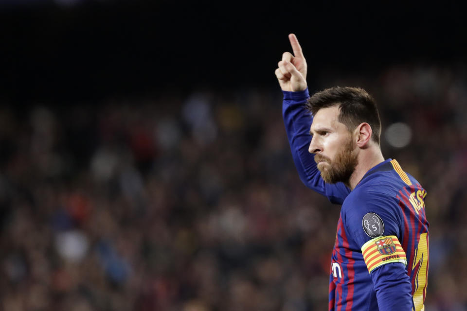 Lionel Messi's gargantuan Barcelona contract details got leaked, and he deserves every cent. (AP Photo/Emilio Morenatti)