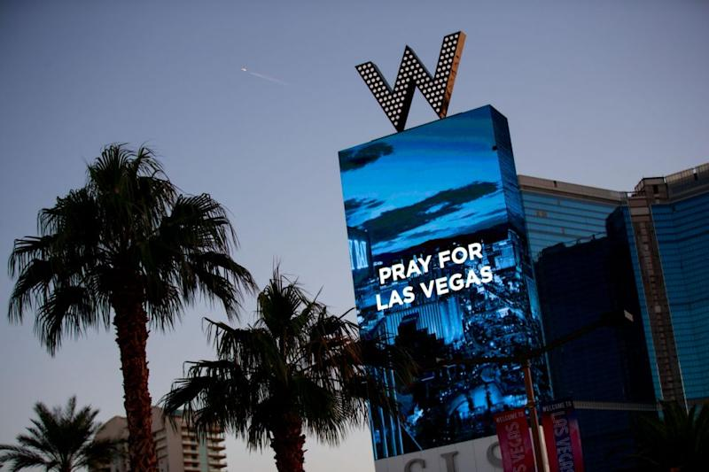 The world is in shock after the awful attack in Las Vegas. Source: Getty