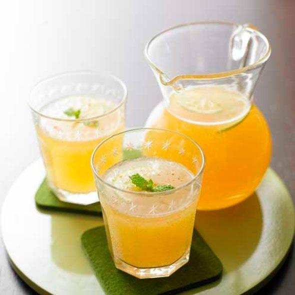 """<p>This easy recipe has an alcoholic and non-alcoholic version<br> </p><p><strong>Recipe: <a href=""""https://www.goodhousekeeping.com/uk/food/recipes/apple-and-ginger-cocktail"""" rel=""""nofollow noopener"""" target=""""_blank"""" data-ylk=""""slk:Apple and ginger cocktail"""" class=""""link rapid-noclick-resp"""">Apple and ginger cocktail</a></strong><br></p>"""