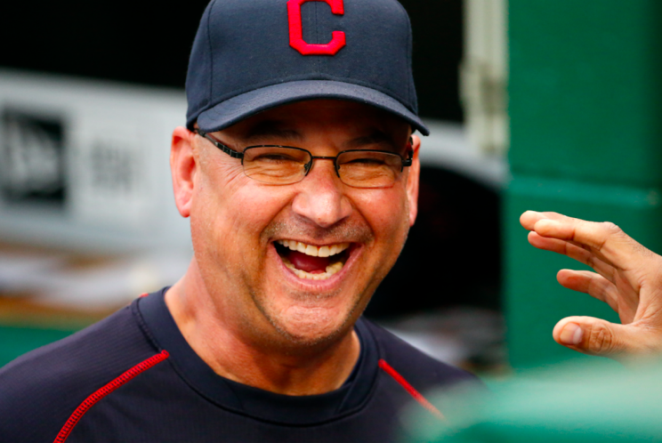 Terry Francona took a shot at his good friend Kevin Cash. (AP Photo)