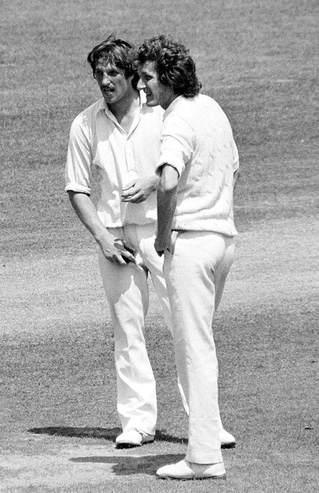 Willis and Ian Botham formed a formidable Test bowling partnership for England (PA)