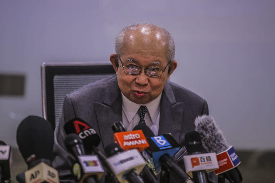 Tan Sri Tengku Razaleigh Hamzah had also called for younger leaders to be given more responsibility in Umno, should the party wish to regain its political stature. — Picture by Hari Anggara