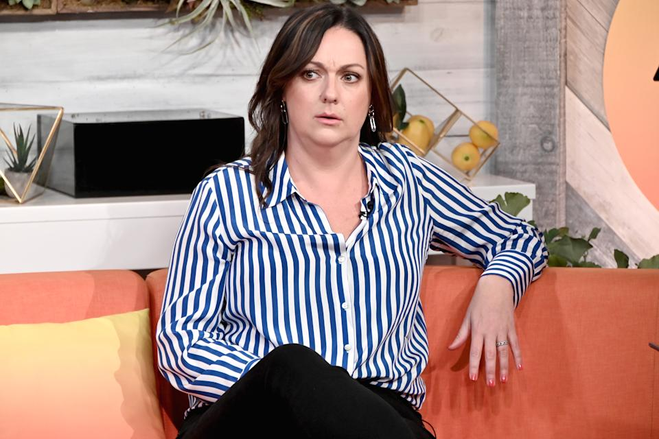 """Celeste Barber visits BuzzFeed's """"AM To DM' to discuss her first network comedy special """"Challenge Accepted"""" on October 29, 2019 in New York City."""