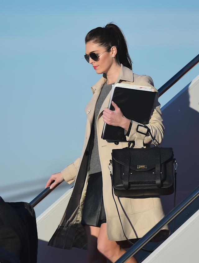 "Hope Hicks, the White House communications director, has been named the most powerful person in ""Trump's Washington,"" by GQ. (Photo: Getty Images)"