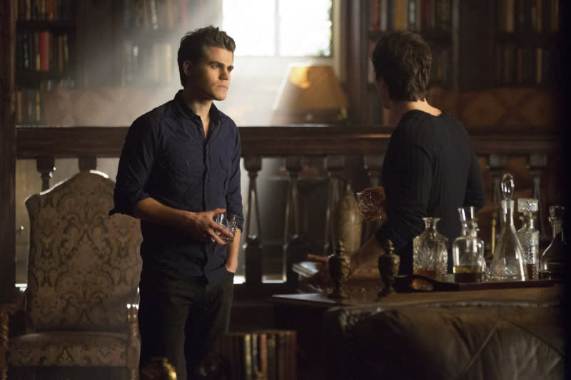 """The Originals"" -- Paul Wesley as Stefan and Ian Somerhalder as Damon"
