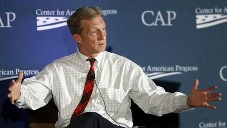 Investor, philanthropist and environmentalist Tom Steyer speaks at the Center for American Progress' 2014 Making Progress Policy Conference in Washington