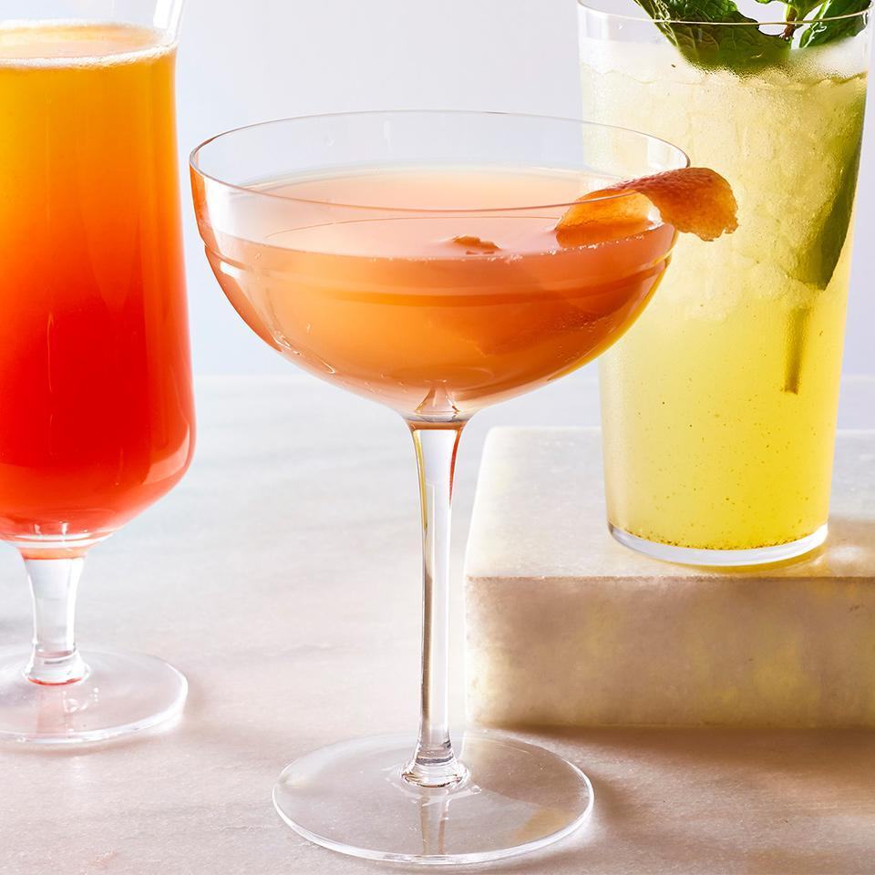 <p>The combination of gin, grapefruit and elderflower seems to be a new, trending combination in cocktails. Our version is super straightforward, but the twist is that we call for spiked grapefruit-flavored seltzer. We think it makes it that much more delicious and refreshing.</p>