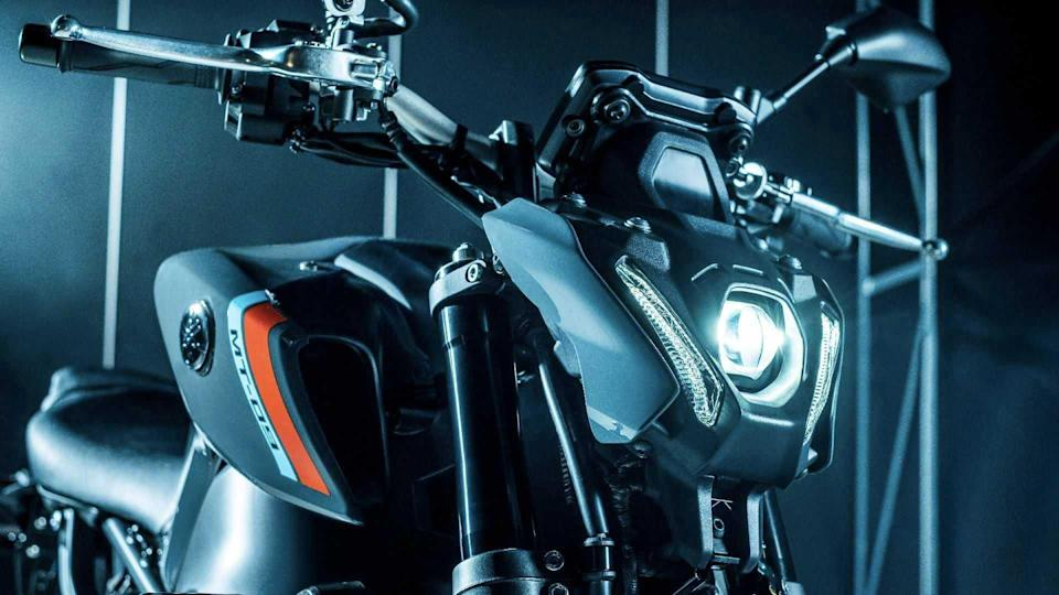2021 Yamaha MT-09 Leaked Pictures, Headlight