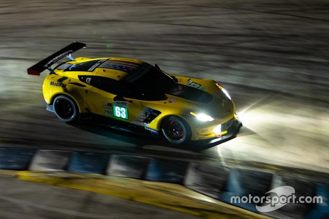"#63 Corvette Racing Chevrolet Corvette C7.R: Jan Magnussen, Antonio Garcia, Mike Rockenfeller <span class=""copyright"">Paul Foster</span>"