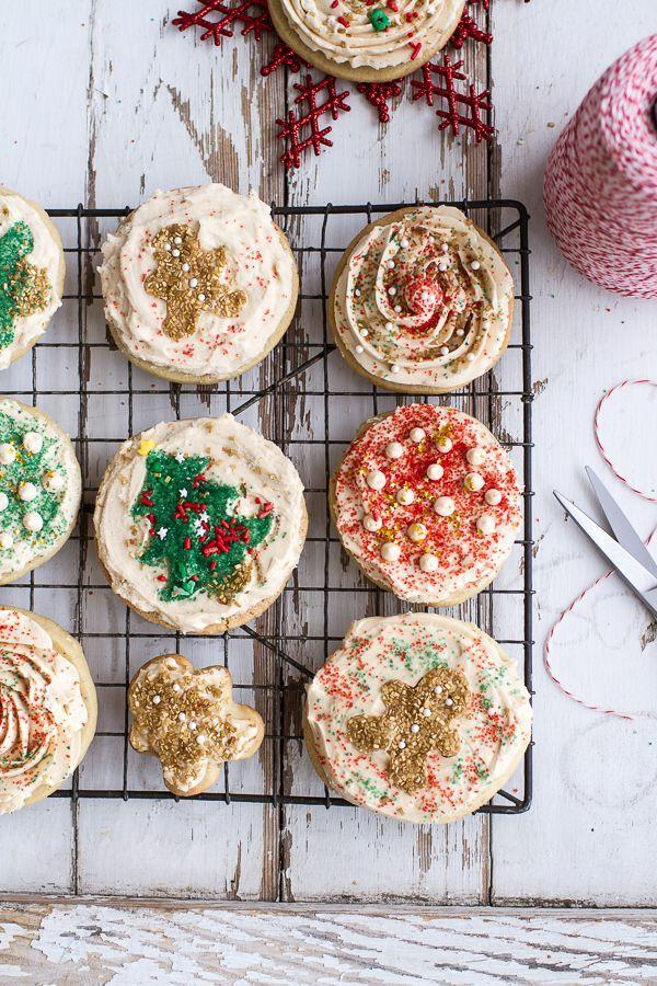 "<p>These cookies are too pretty (and too delicious) to leave out for Santa ... sorry, dude.</p><p>Get the recipe from <a href=""http://www.halfbakedharvest.com/easy-slice-n-bake-vanilla-bean-christmas-sugar-cookies-wwhipped-buttercream/"" rel=""nofollow noopener"" target=""_blank"" data-ylk=""slk:Half Baked Harvest"" class=""link rapid-noclick-resp"">Half Baked Harvest</a>.</p>"