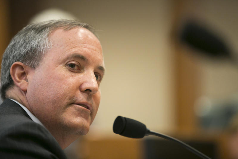 Texas Attorney General Ken Paxton celebrated Monday's ruling that partially lifts an injunction to keep a state immigration crackdown from going into effect. (Robert Daemmrich Photography Inc./Corbis via Getty Images)