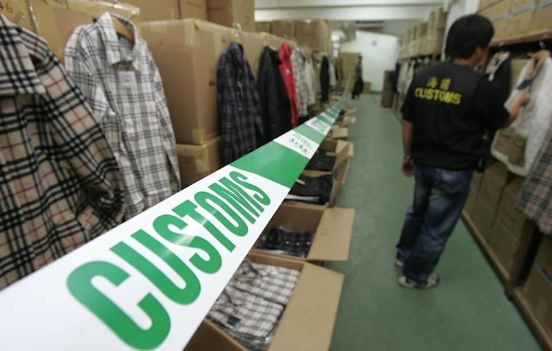 Hong Kong is a popular destination for counterfeit goods ranging from designer clothes to brand-name headphones