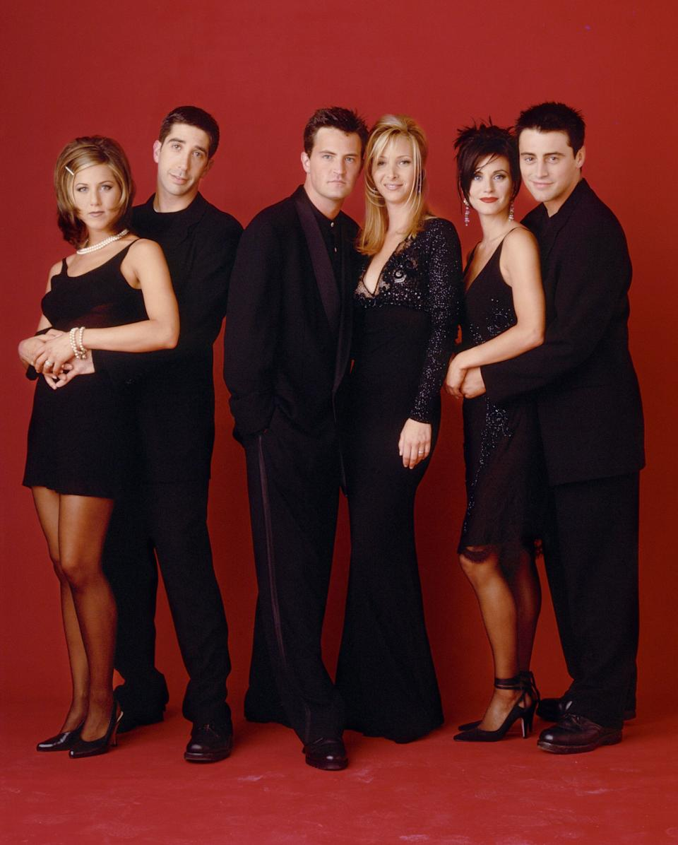 The cast of Friends  (Photo: NBC via Getty Images)