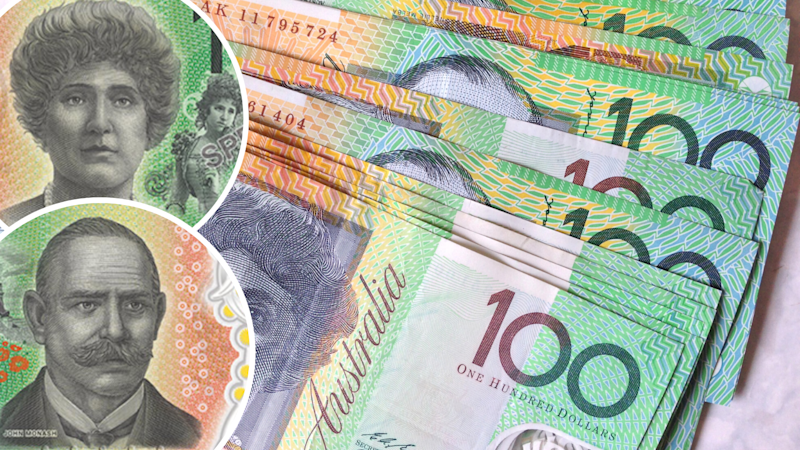 The new $100 note will feature Dame Nellie Melba and Sir John Monash. (Source: Getty, RBA)